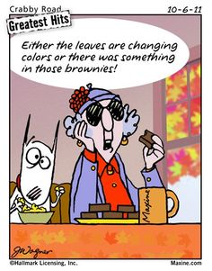 leaves are changing colors | Maxine for 2011-10-06