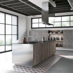 Cucine Moderne Grigie: 22 Modelli delle Migliori Marche | Exterior ...