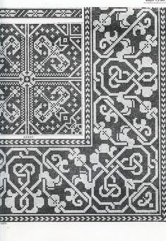 ru / Фото - Old Italian Patterns for Linen Embroidery - Cross Stitch Borders, Cross Stitch Charts, Cross Stitching, Cross Stitch Patterns, Knitting Charts, Knitting Stitches, Embroidery Art, Cross Stitch Embroidery, Blackwork