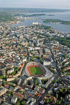 Bislett Stadium  C.F. Møller. Photo: SCANPIX