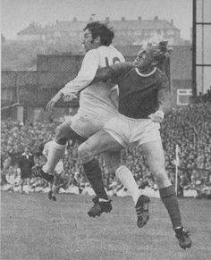 6th September 1969. A major part of Leeds championship winning side, the visit of Manchester United saw Mike O'Grady get a rare start having lost his place to new signing Allan Clarke.