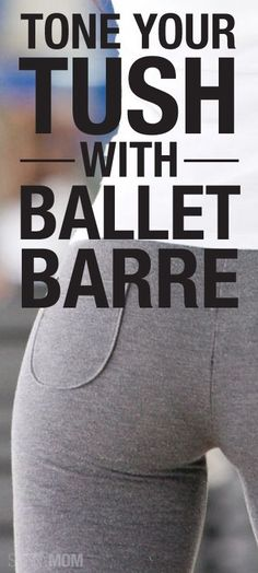 Try this ballet barre workout to get you in shape!