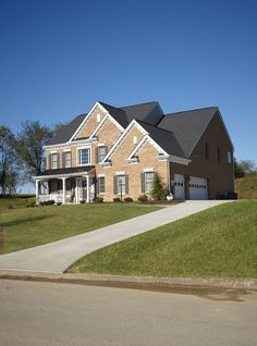 Brick front home