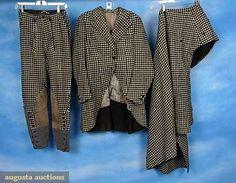 Augusta Auctions: 2 Ladies Sidesaddle Habits, 1930-1940s