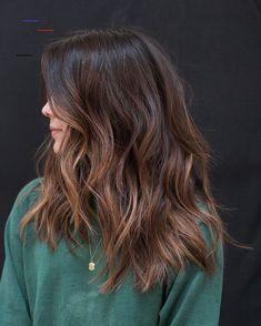 Balayage Straight, Brown Hair Balayage, Brown Hair With Highlights, Hair Color Balayage, Brown Hair Colors, Color Highlights, Brunette Highlights, Hair Colours, Hair Color For Morena