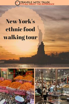 History tour and food stops in NYC led by tour guides. #travel #nyc #food