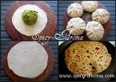 Aloo Paratha (Stuffed with Kasoori Methi Aloo) Methi Recipes, Veg Recipes, Other Recipes, Indian Food Recipes, Vegetarian Recipes, Cooking Recipes, Indian Dishes, Indian Breads, Fried Fish Recipes