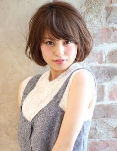 フェミニンボブ(KU-372) | ヘアカタログ・髪型・ヘアスタイル|AFLOAT(アフロート)表参道・銀座・名古屋の美容室・美容院 Cute Japanese, Japanese Girl, Beauty Makeup, Hair Beauty, Kawaii Faces, Portrait Inspiration, Fringes, Asian Beauty, Cute Girls