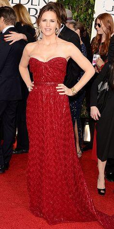 The Golden Globes 2013: Jennifer Garner in Vivienne Westwood Couture