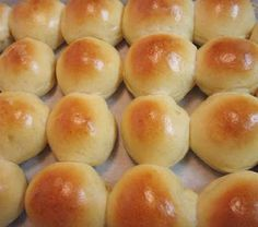 Homemade Rolls recipe tells how to freeze half for later