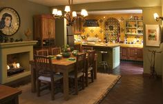 Dining Room looking towards kitchen - Magical Mexican Casa-Cooks Delight-Tranquil/Secure -  - rentals