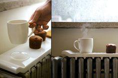 Coccole invernali: il vassoio scalda #colazione