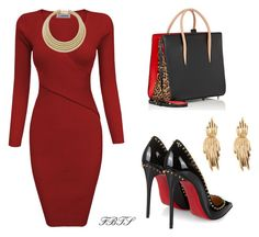 Do What You Do Best by flybeyondtheskies on Polyvore featuring Christian Louboutin and Oscar de la Renta
