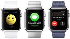 Seríamos capaces de responder a nuestros mensajes de WhatsApp utilizando el dictado por voz del Apple Watch