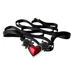 Blood Heart Black Rose Heart Pewter Necklace ❤ liked on Polyvore featuring jewelry, necklaces, pewter jewelry, heart necklace, goth necklace, heart jewelry and rose jewelry