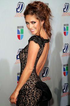 Fotos de vestidos de fiesta de famosas argentinas