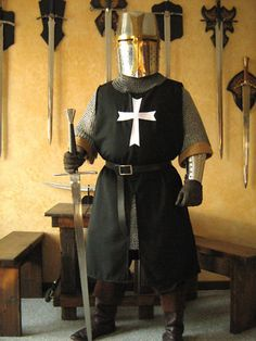Medieval Knight Men-at-arms Crusader Templar Surcoat. $99.99, via Etsy.