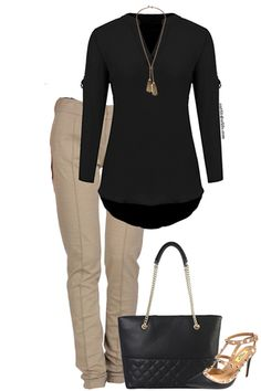 Like this chic work outfit? Visit outfitsforlife.com for links to find each item and for even more great outfit inspo! #outifts #ootd #businesscasual #work