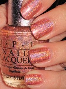 Nails and polish - nagels Opi Nail Polish, Opi Nails, Nail Polish Colors, Glitter Nails, Cute Nails, Pretty Nails, Fancy Nails, Art Beauté, Acryl Nails