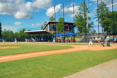 Baseball Field & Recreation Center