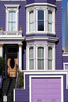 Cute Purple House