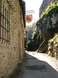 Mazamet - Hautpoul, medieval village - by Brigitte Etienne - Tarn dept. - Midi-Pyrénées région France     ...www.map-france   .com