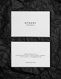 james minimal business cards inspiraciones pinterest james