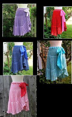 Fabulous Crochet a Little Black Crochet Dress Ideas. Georgeous Crochet a Little Black Crochet Dress Ideas. Black Crochet Dress, Crochet Skirts, Knit Skirt, Crochet Clothes, Ruffle Skirt, Crochet Woman, Crochet Crafts, Crochet Yarn, Crochet Top