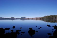 Waldo Lake Oregon ... a morning kayak paddle on this lake is like a dream.