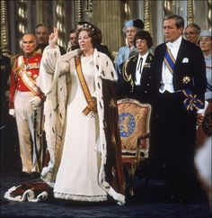 koningin Beatrix en prins Claus