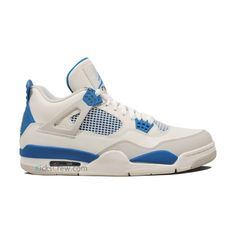 cheap for discount f4fd1 0dfe0 Air Jordan 4 Quai 54 White Military Blue Neutral Grey 308497 cheap Jordan  If you want to look Air Jordan 4 Quai 54 White Military Blue Neutral Grey  308497 ...