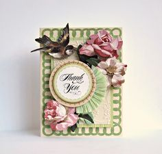 Gorgeous #AnnaGriffin Floral Impressions card kit @Anna Totten Totten Griffin, Inc.