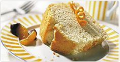 Fermes Burnbrae : Le coin recettes : Gâteau mousseline à l'orange