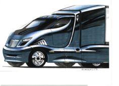 Navistar International truck by Rob Anderson at Coroflot.com