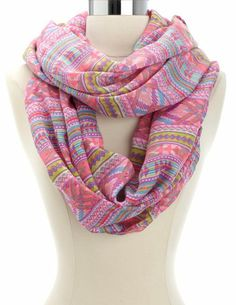 Stylish Outfits, Cute Outfits, Cozy Scarf, Cute Scarfs, Tribal Prints, Shawls And Wraps, Scarf Styles, Girly Girl, Womens Scarves