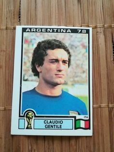 CLAUDIO GENTILE #100 Italy Juventus Argentina 78 Panini World Cup 1978 Yugoslav | eBay Soccer Cards, Baseball Cards, Football And Basketball, Merlin, World Cup, Albums, The 100, Italy, Stickers