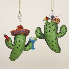 12 Christmas Ornaments by Gordon Companies, Inc. $145.50. Brand Name: Gordon Companies, Inc Mfg#: 30669628. Please refer to SKU# ATR26197898 when you inquire.. This product may be prohibited inbound shipment to your destination.. Picture may wrongfully represent. Please read title and description thoroughly.. Shipping Weight: 2.00 lbs. 12 Christmas Ornaments/cactus/fully dimensional/hangers included/4''H/made of resin and metal/you get six of each ornament