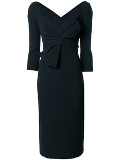 Dsquared2 bow detail dress
