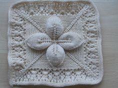 Ravelry Counterpane Bedspread Knit White Natural Ecru Cream by noemi_pro, via Flickr