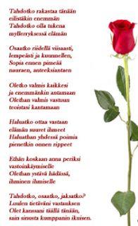 Rakkaus, amour