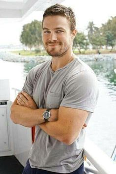 Stephen Amell such a cutie! :))