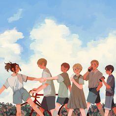 Attack On Titan Comic, Attack On Titan Season, Attack On Titan Fanart, Eruri, Levi Ackerman, Kawaii Anime Girl, Anime Ships, Anime Outfits, Animes Wallpapers