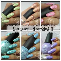 Yes Love - Color Speckled Collection - II [Complete swatches]