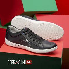 Que tal um look despojado hoje?  Aposte nos sapatênis da linha Etios!  #ferracini24h #shoes #cool #trend #brasil #manshoes