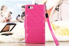 Chanel Handytasche aus Lackleder mit Karomuster für iPhone 6/6 Plus - spitzekarte.com
