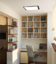 место для работы на балконе