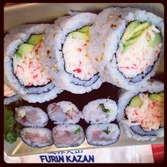 Ya Su Maki  [finally] #foodporn #throwback #sushi #tataki #maki #japanese #cooking #raw #white #fish #all_shots #furinkazan #athens #hotspot by mylittlebambam