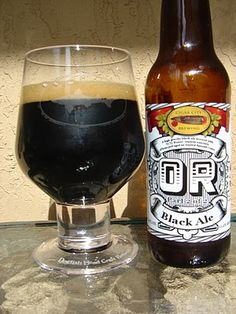 Or, a Black Ale brewed by Cigar City Brewing in Tampa, Florida.