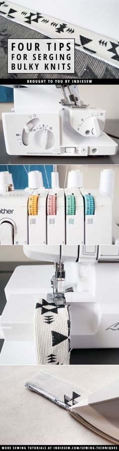 How to Sew Knits with a Serger | Sewing with Jersey | Best Tips for Sewing Knits