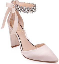 Badgley Mischka Deirdra Evening Sandals Women Shoes Source by ShopStyle Shoes vintage Women's Pumps, Pump Shoes, Women's Shoes Sandals, Shoe Boots, Pink Sandals, Platform Shoes, Shoes Sneakers, Best Bridal Shoes, Wedding Boots